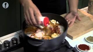 חמין עוף וחיטה חריפה של השף יוסי שטרית