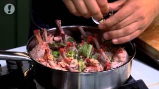 מתכון לקדירת עוף עם קינואה וחלב קוקוס