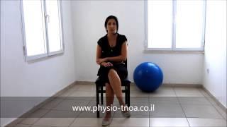 תרגילי פיזיותרפיה לאחר אירוע מוחי : שיפור תנועת הכתפיים