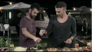 שף על האש עונה 4 - המבורגר סלק צמחוני על גריל גז
