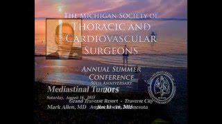Dr. Mark Allen - Mediastinal Tumors גידולים במיצר בית החזה