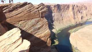 האוכף בנהר הקולרדו ארצות הברית - The Saddle In Colorado River United States