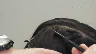 איך לקלוע צמת שתי וערב עיצוב שיער לכלות