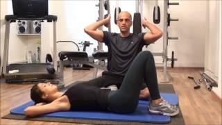 איך עושים אימון בטן מושלם ב5 דק'? לבטן חטובה ושטוחה