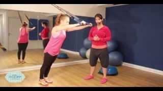 אימון כושר בעזרת TRX, תרגילים בעמידה - דור זבלודוביץ' מדריכת כושר מוסמכת
