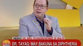 UB: Dr. Tayag: May Bakuna Sa Diphtheria דיפתריה