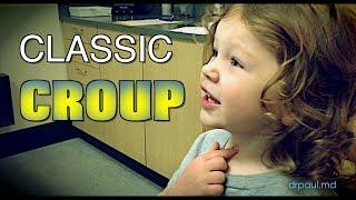 CLASSIC CROUP: Live Diagnosis With Dr. Paul שיעול קרופ