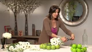 איריס רוזין עיצוב פלוס - זר תפוחים ערוץ בית+