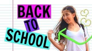 בחזרה לבית הספר: איפור + תסרוקת + איך לשדרג את התלבושת האחידה?! | MEKLIATforyou