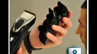 עיצוב שיער גברים איך לעבוד עם מכונת התספורת