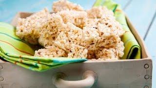 חטיפי פצפוצי אורז ושוקולד לבן מתוך 'מיקי שמו אופה מהלב' , ערוץ האוכל