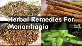 Remedies For Menorrhagia יתר וסת