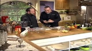 סלט סוגי עגבניות של שף שאול בן אדרת וקובי אריאל - ארוחת שבת, ערוץ האוכל
