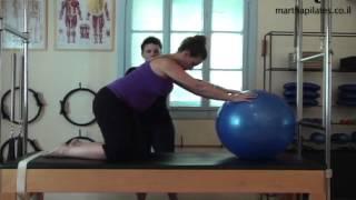מרתה ענבר פילאטיס: הריון וכדור פיזיו
