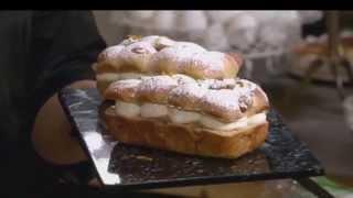 בריוש דרג'ה שוקולד לבן וחמאת בוטנים, מתוך 'מיקי שמו עושה בית ספר' - פרק 4 - שמרים
