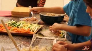 בישול בריא עם ילדים