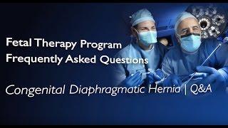 "Congenital Diaphragmatic Hernia (CDH) | Q&A בקע סרעפתי מלידה ע""ש בוכדלק"