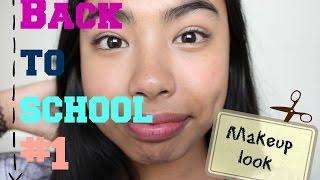 Back To School#1-חזרה לבית ספר איפור קליל 2015