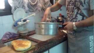 לחם בית, לחם פרנה אמיתי ,לחם מרוקאי,  מאיר ממן מבשל