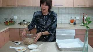 איך להכין בקלות חלה יפה ומיוחדת לשבת  מקמח מלא-ענת פז