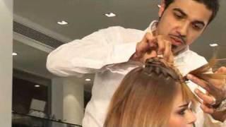 עיצוב שיער- תסרוקות אסופה עם צמות