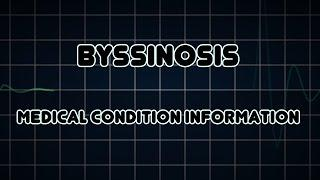 Byssinosis (Medical Condition) ביסינוזיס