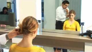 עיצוב שיער- תסרוקת פשוטה שניתן לעצב לבד בבית