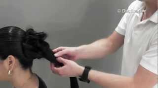 עיצוב שיער לכלות איך לאסוף שיער תסרוקות באמצעות קוקו