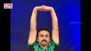 Yoga-Exercises Cure For Neck Pain And Spondylitis| Yoga | CVR Health דלקת חוליות
