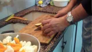 כרובית וגזר כבושים, מאיר ממן מבשל - ראו מתכון כתוב ומפורט