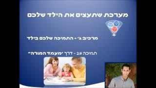 ביטחון עצמי בילדים: סרטון שלישי - איך להוביל את הילד להיטמע בחברה