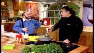 תבשיל צוואר כבש עם ארטישוק ירושלמי ולימון פרסי