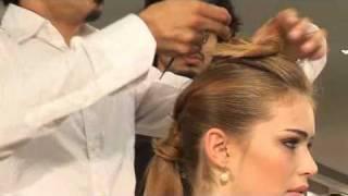 עיצוב שיער- גרסה מעניינת לתסרוקת מוהיקן