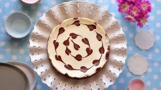 שמח במטבח - עוגת גבינה ולבבות שוקולד