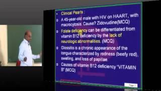 Medicine Hematology Lec 01 Topic 01 Megaloblastic Anemia By Dr.Murali Bharadwaz אנמיה מגלובלסטית