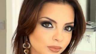 מריה מסלרסקי - איפור מעושן Maria Maslarski Sexy Arabic Makeup Tutorial 2013