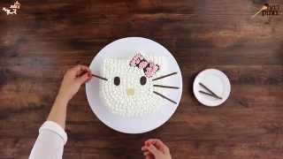 איך מכינים עוגת הלו קיטי? אופים עם שוקולד פרה