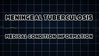 Meningeal Tuberculosis (Medical Condition) דלקת שחפתית של קרומי המוח