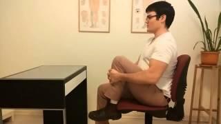 מתיחות לגב תחתון - תרגילים לכאבי גב תחתון, לביצוע במשרד או בעבודה