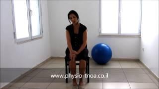 פיזיותרפיה לאחר אירוע מוחי : תרגילים לשורש כף היד והאצבעות