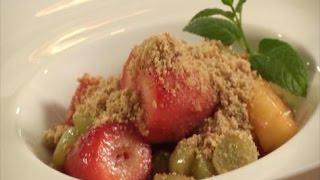 קרמבל פירות מוקפצים במחבת, מתוך 'אלופים במטבח 3'- פרק 6 - נטע ריבקין