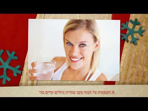 8 השפעות על הגוף עקב שתיית נוזלים קרים מדי