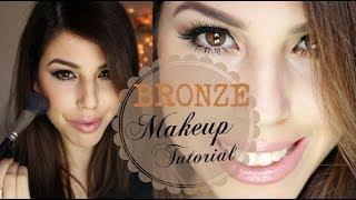 Bronze Makeup Tutorial ♥ איפור מעושן ברונזה