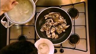 מרק ארטישוק ירושלמי ופטריות