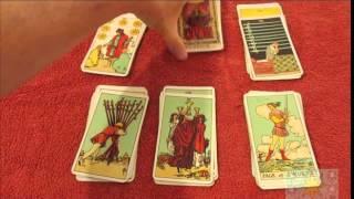 קורס טארוט בחינם סרטון 1  זיהוי הקלפים