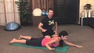 פילאטיס מזרן (פרק 24/2): סדרת תרגילים לחיזוק הגב העליון