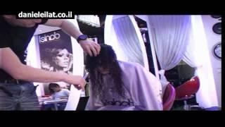 תספורת נשים מדורגת-עיצוב שיער מתולתל