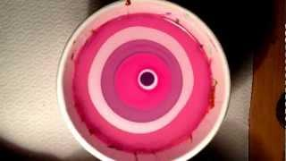 Pink & White Water Marble Nail Art Tutorial קישוטי ציפורניים לק ומים