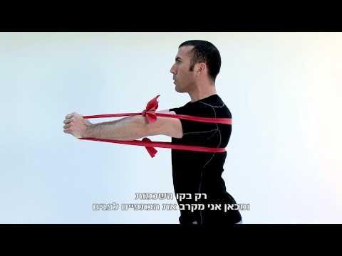Serratus Anterior Strengthening (Ex. 24) - תרגילי פיזיותרפיה לכתף