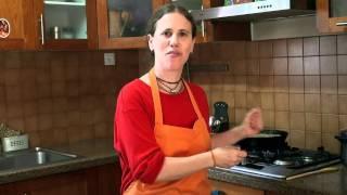 סבג'י חצילים, תפוח אדמה וגבינת פניר: בישול בריא עם ונו